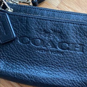 Coach Black Leather Wrislet